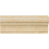 Del Conca Roman Stone Beige Porcelain Chair Rail Tile (Common: 2-in x 6-in; Actual: 2.17-in x 5.91-in)