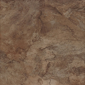 Style Selections Canyon 7-Pack Espresso Porcelain Floor Tile (Common: 18-in x 18-in; Actual: 17.72-in x 17.72-in)
