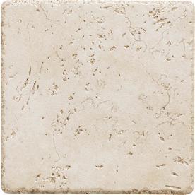 Del Conca Rialto White Thru Body Porcelain Wall Tile (Common: 6-in x 6-in; Actual: 5.8-in x 5.8-in)
