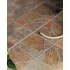 FLOORS 2000 11-Pack Paladiana Red Glazed Porcelain Indoor/Outdoor Floor Tile (Common: 13-in x 13-in; Actual: 13.38-in x 13.38-in)