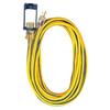 Voltec Industries 25-ft 15-Amp 300-Volt 12-Gauge Yellow Outdoor Extension Cord