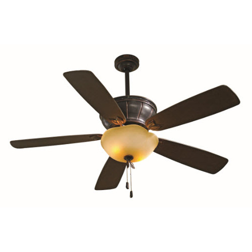 Shop allen + roth 52 Eastview Dark Oil Rubbed Bronze Ceiling Fan at