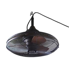 allen + roth 20-in Valdosta Dark Oil Rubbed Bronze Outdoor Ceiling Fan