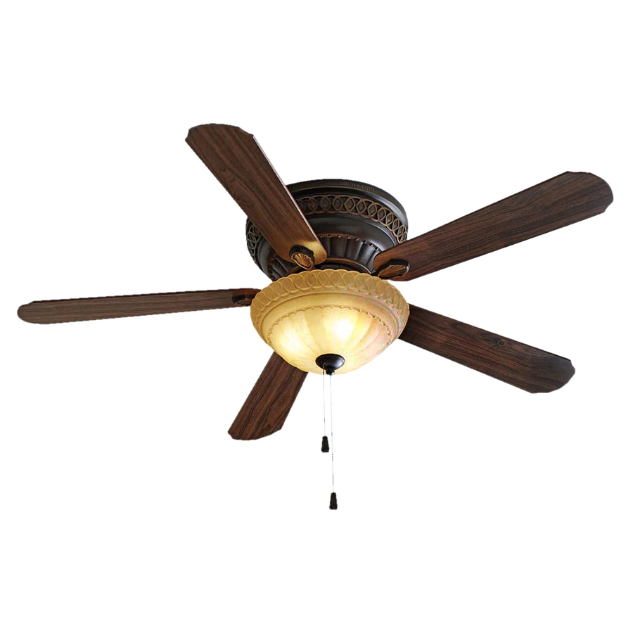 ... 52-in Duncan Oil-Rubbed Bronze Ceiling Fan with Light Kit at Lowes.com