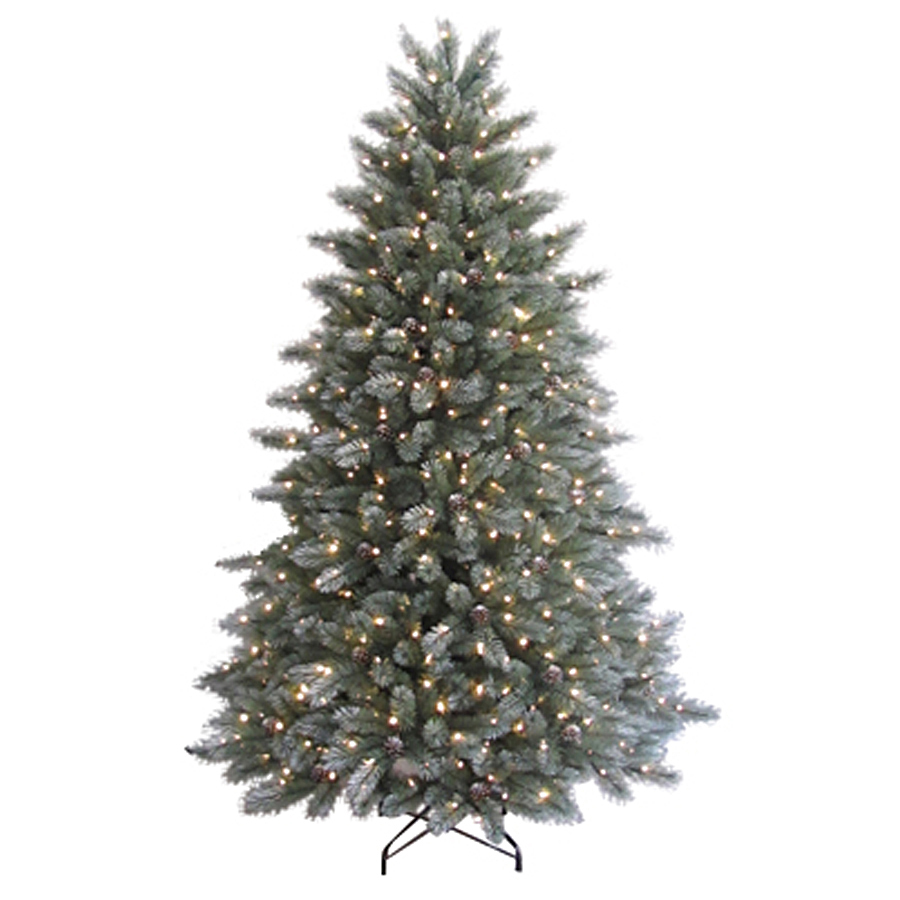 7 Ft Christmas Tree: Enlarged Image