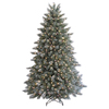 GE 7-ft Scotch Pine Pre-lit Artificial Christmas Tree with 550-Count Clear Lights