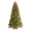 GE 7-ft Spruce Pre-lit Artificial Christmas Tree with 550-Count Clear Lights