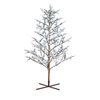 GE 8-ft Pre-Lit Winterberry Artificial Christmas Tree with White Lights
