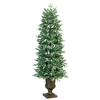 GE 5-ft Fir Pre-lit Decorative Artificial Tree with 150-Count Clear Lights