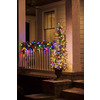 GE 5-ft Pre-Lit Fir Artificial Christmas Tree with Multicolor Lights