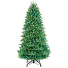 lowes deals on GE 7.5-ft Grand Fir Pre-lit Artificial Christmas Tree 31795LO