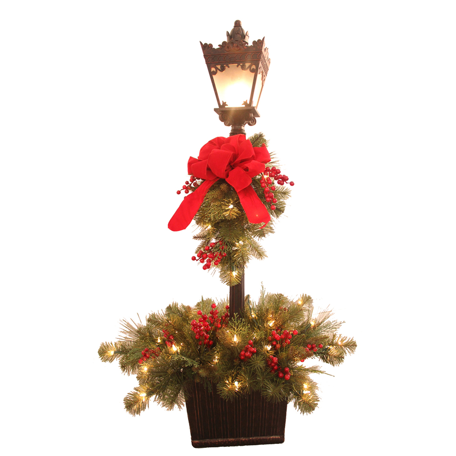 Christmas decoration lamp post holliday decorations for A christmas decoration