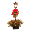 lowes deals on GE 48-in Lighted Lamp Post Indoor Christmas Decoration 39389LO