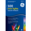 GE 100-Count Mini Multicolor Christmas String Lights