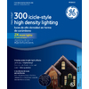 GE 300-Count Mini Blue Christmas Icicle String Lights
