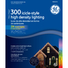 GE 300-Count Mini Multicolor Christmas Icicle String Lights