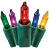 GE String-A-Long 300-Count Multicolor Mini Christmas String Lights