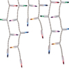 GE String-A-Long 300-Count Indoor/Outdoor Constant Multicolor Incandescent Mini Christmas Icicle Lights