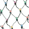 GE String-A-Long 6-ft x 4-ft Indoor/Outdoor Constant Multicolor Incandescent Mini Plug-in Christmas Net Light