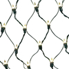 GE String-A-Long 6-ft x 4-ft Indoor/Outdoor Constant Clear Incandescent Plug-In Mini Christmas Net Lights