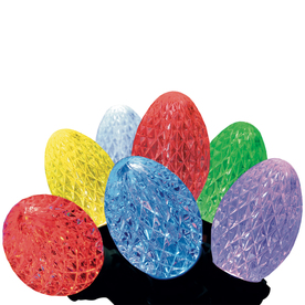 GE Lighted Outdoor Christmas Decoration with Multicolor Multi-Function Lights