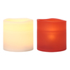 GE 3-in Assorted Battery-Operated LED Electric Pillar Candle with Timer