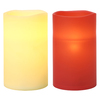 GE 5-in Assorted Battery-Operated LED Electric Pillar Candle with Timer