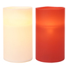 GE 7-in Assorted Battery-Operated LED Electric Pillar Candle with Timer