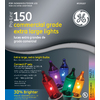 GE 150-Count 8mm Multicolor Christmas String Lights