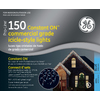 GE 150-Count Mini Blue Christmas Icicle String Lights
