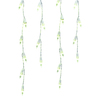 GE 200-Count LED Mini White Christmas Icicle String Lights ENERGY STAR