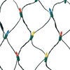 GE StayBright 5-ft x 4-ft Indoor/Outdoor Constant Multicolor LED Plug-In Mini Christmas Net Lights ENERGY STAR