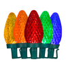 GE 100-Count LED C9 Multicolor Christmas String Lights ENERGY STAR