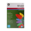 GE Energy Smart 50-Count Multicolor C5 LED Christmas String Lights