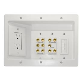 On-Q/Legrand 342-cu in 3-Gang Plastic Adjustable Wall Electrical Box