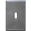 Somerset Collection 1-Gang Iron Standard Toggle Metal Wall Plate