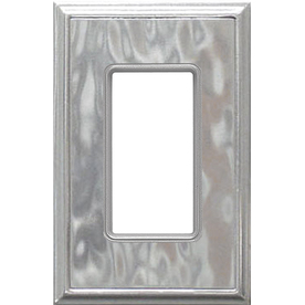 Somerset Collection 1-Gang Nickel Single Round Wall Plate