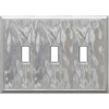 Somerset Collection 3-Gang Nickel Toggle Wall Plate