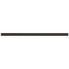 Somerset Collection Somerset Oil-Rubbed Bronze Cast Metal Pencil Liner Tile (Common: 1/2-in x 12-in; Actual: 0.5-in x 11.93-in)