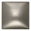 Somerset Collection Somerset Bright Nickel Cast Metal Square Accent Tile (Common: 2-in x 2-in; Actual: 1.87-in x 1.87-in)
