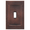 Somerset Collection Contemporary 1-Gang Oil Rubbed Bronze Wall Plate