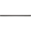 Somerset Collection Brushed Nickel Metal Pencil Liner Tile (Common: 5/8-in x 12-in; Actual: 0.6-in x 11.3-in)