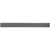 Somerset Collection Brushed Nickel Metal Pencil Liner Tile (Common: 5/8-in x 12-in; Actual: 0.3-in x 11.3-in)