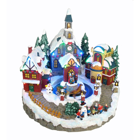 Holiday Living Christmas Resin Lighted LED Village