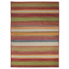 Carpet Art Deco Sunshine Multicolor Rectangular Indoor/Outdoor Woven Tropical Area Rug (Common: 5 x 8; Actual: 63-in W x 89-in L)