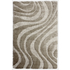 Carpet Art Deco Symetry Light Grey Rectangular Indoor Woven Area Rug