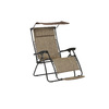 Garden Treasures Tenbrook Steel Folding Patio Conversation Chair