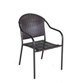 Garden Treasures Pelham Bay Stackable Patio Dining Chair