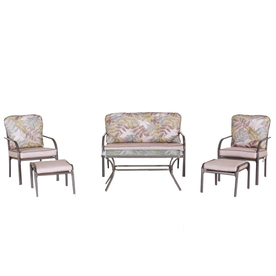 Garden Treasures 6-Piece Dunstan Patio Furniture Set