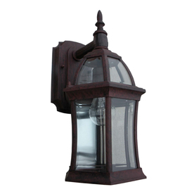 shop portfolio outdoor wall light at. Black Bedroom Furniture Sets. Home Design Ideas